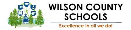 Wilson County Schools Website Header