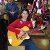 Beth loves shopping local at Shiloh Music!