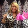 Tracey was caught shopping local at Sister's Whimzy!