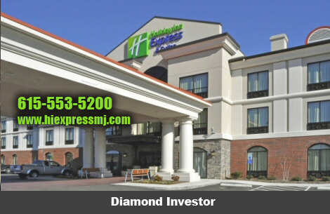 Holiday Inn Express Mt. Juliet - Diamond Sponsor