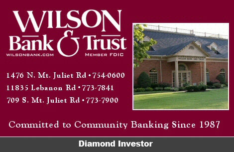 Wilson Bank and Trust - Mt Juliet Chamber Sponsor